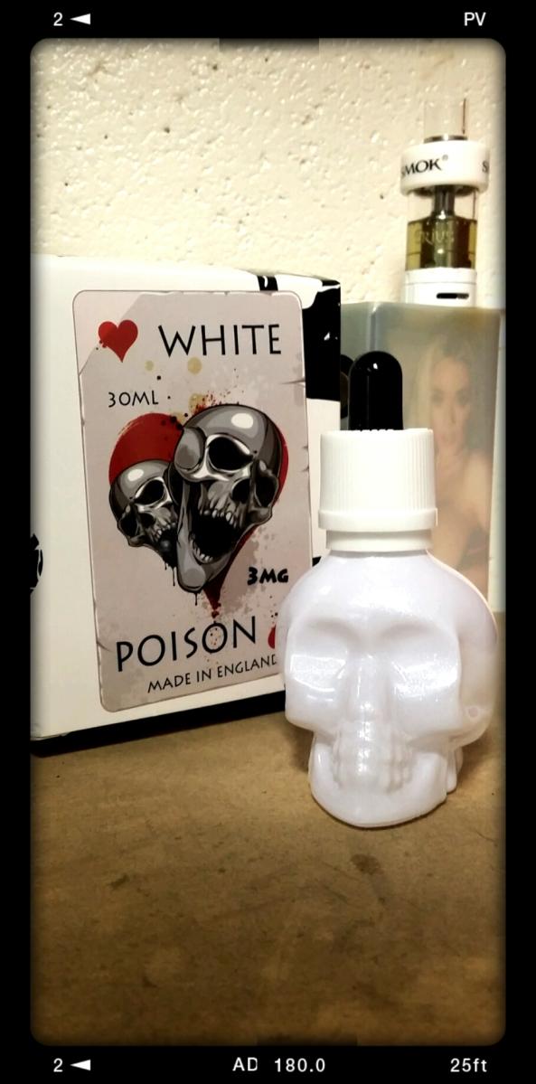 White Poison Hearts by Eco Vape
